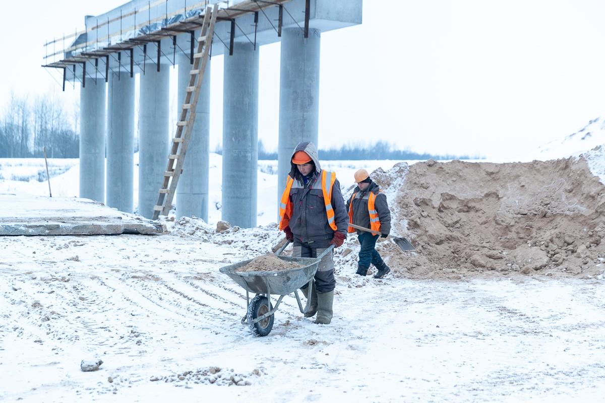 Гдовская развязка Северного обхода города Пскова будет готова к Ганзейским дням