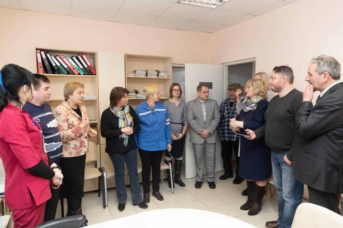 Работа поста скорой помощи в селе Ляды Плюсского района восстановлена