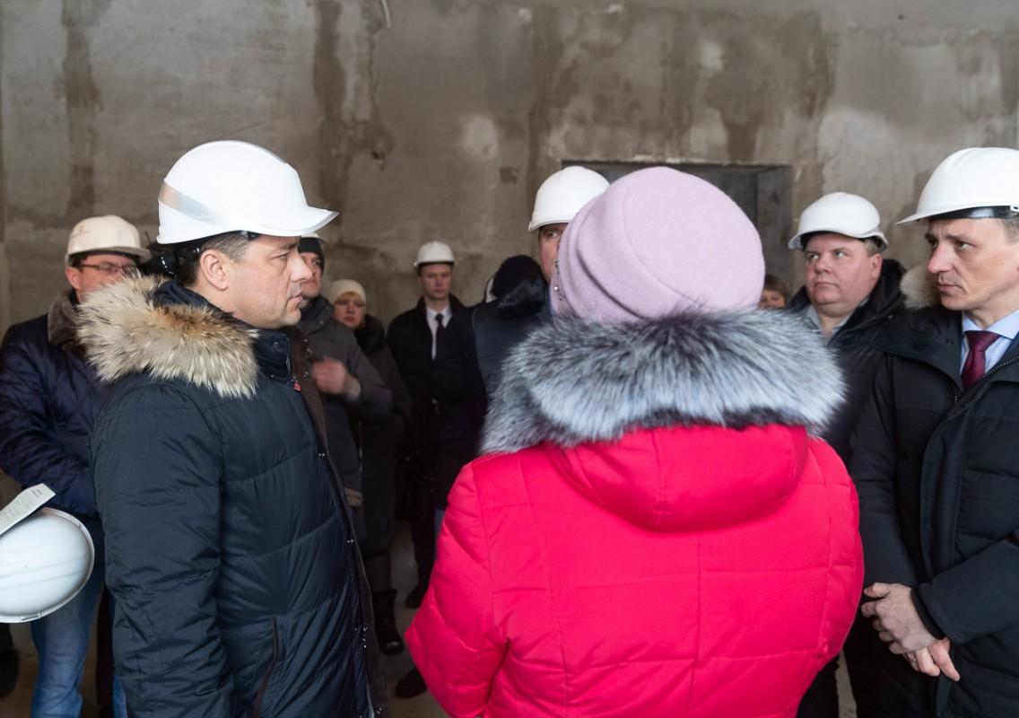Областные власти помогут в создании молодежного центра на базе Дновского ДК