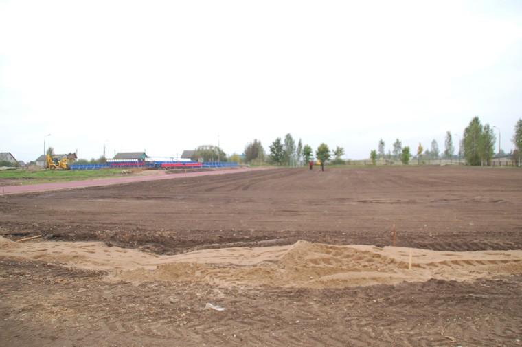 Стадион при общеобразовательной школе п. Палкино
