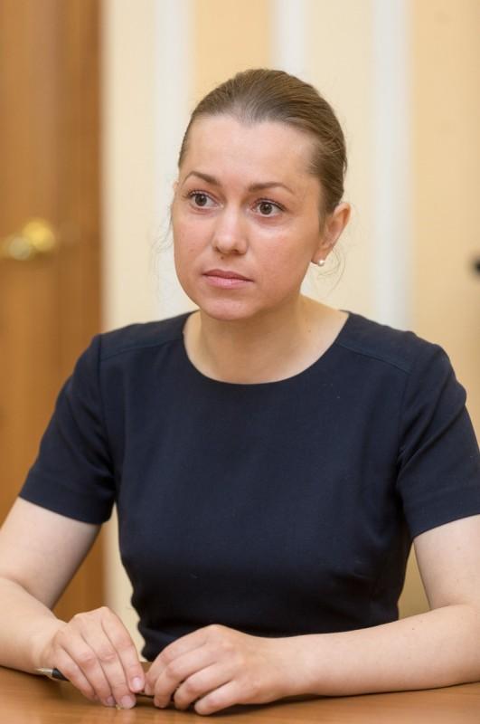 На фото: Ольга Кутузова