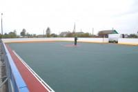 Хоккейная коробка при общеобразовательной школе п. Палкино