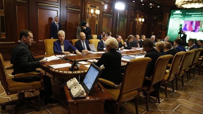 Д. Медведев: Система целевого приема в университеты должна быть бесцветной, понятной, доступной