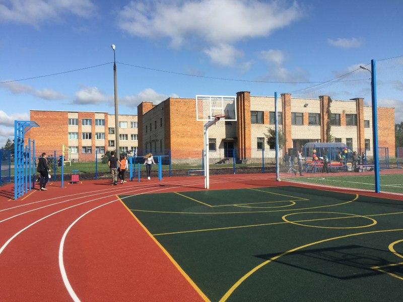 Островские дети получили в подарок к новому учебному году современную спортивную площадку, фото-2