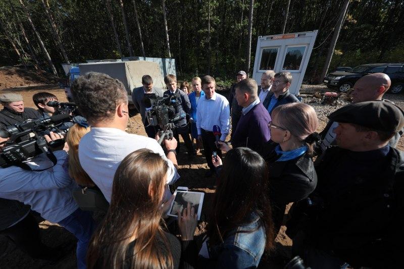 Губернатор поручил передать строительство великолукского велоцентра местным строителям, фото-3