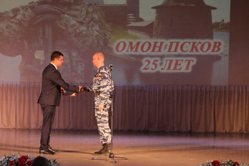 Псковский ОМОН отмечает 25-летие со дня образования, фото-4