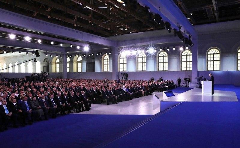 Делегация Псковской области принимает участие в оглашении послания Президента России, фото-2