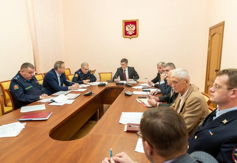 Прохождение осеннего призыва  в Псковской области обсудили на заседании призывной комиссии региона