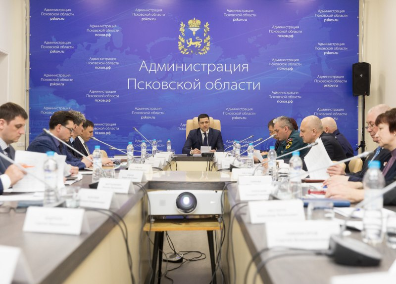 План по защите жителей Псковской области от ЧС приняли члены областной комиссии, фото-1