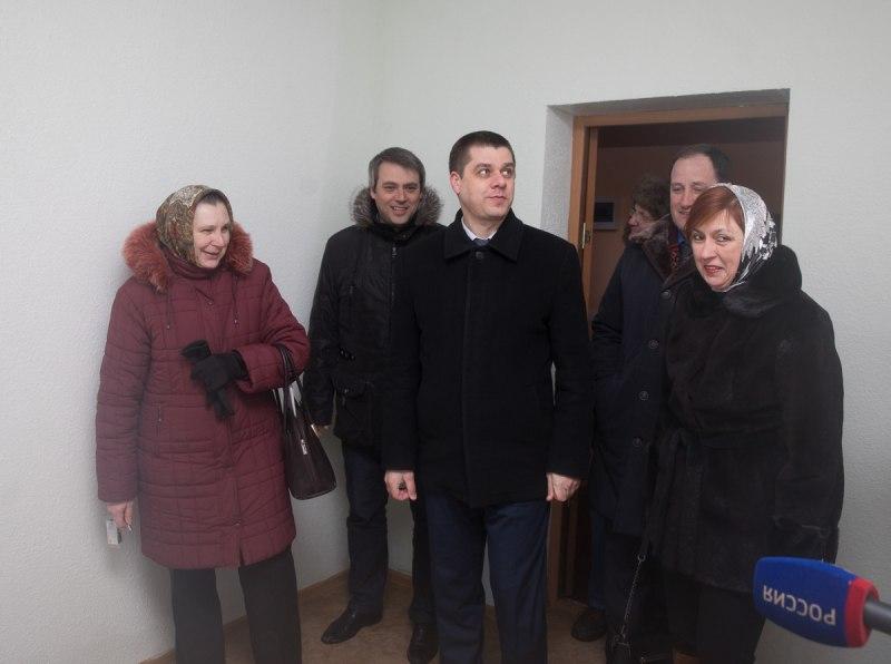 Жители Печор получили ключи от новых квартир, фото-4