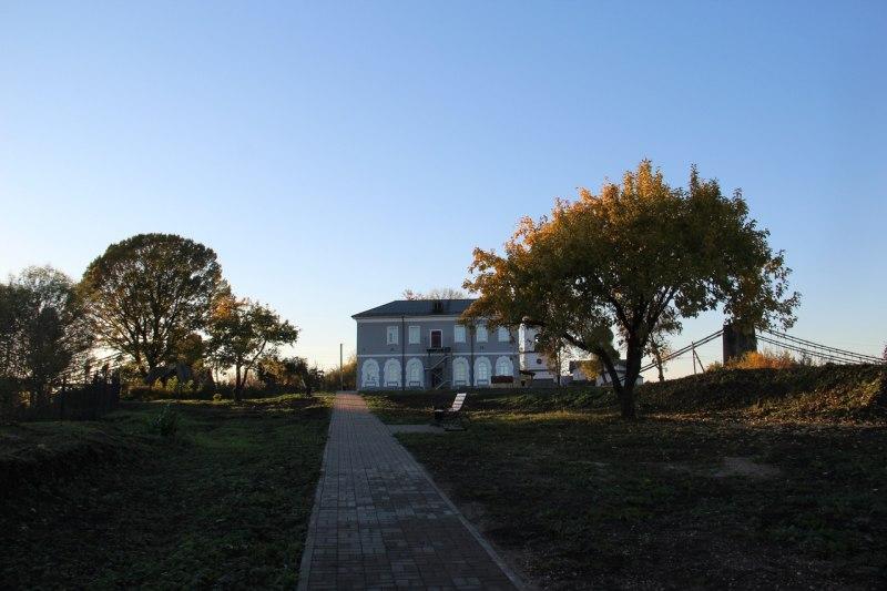 Новый парк в г. Острове