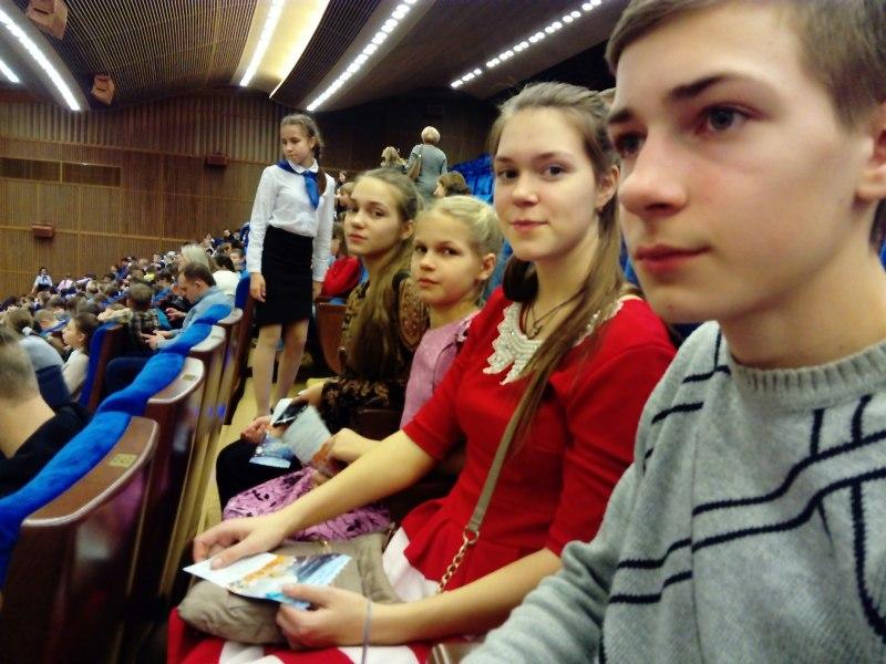 Семья Тарасовых вернулась из рождественской поездки в Москву с яркими впечатлениями