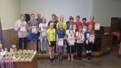 Псковские школьники представляют регион в финале Президентских состязаний и спортивных игр