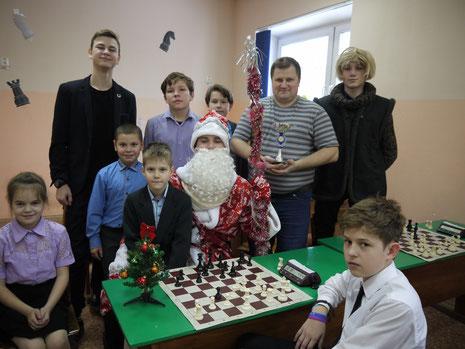 Шесть шахматных турниров прошли в Псковской области в новогодние каникулы