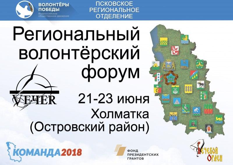 Региональный волонтерский форум пройдет 21—23 июня в Островском районе, фото-1