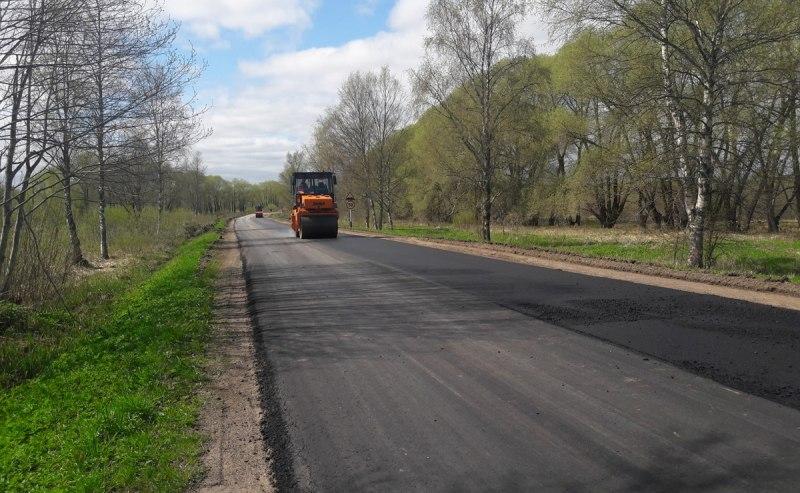 В Псковском районе идет ремонт дороги Подборовье-Лопатово-Боровичи, фото-2
