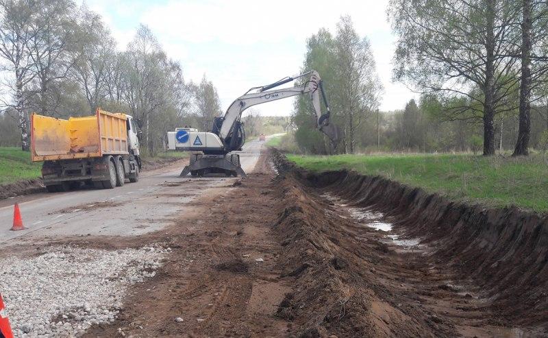 В Псковском районе идет ремонт дороги Подборовье-Лопатово-Боровичи, фото-3