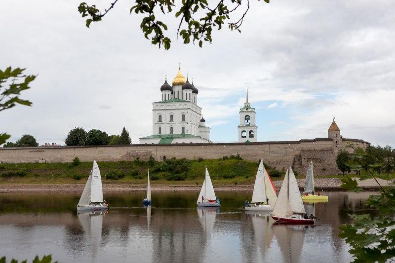 Псковская регата официально включена в Международный Календарь соревнований по парусному спорту на 2019 год