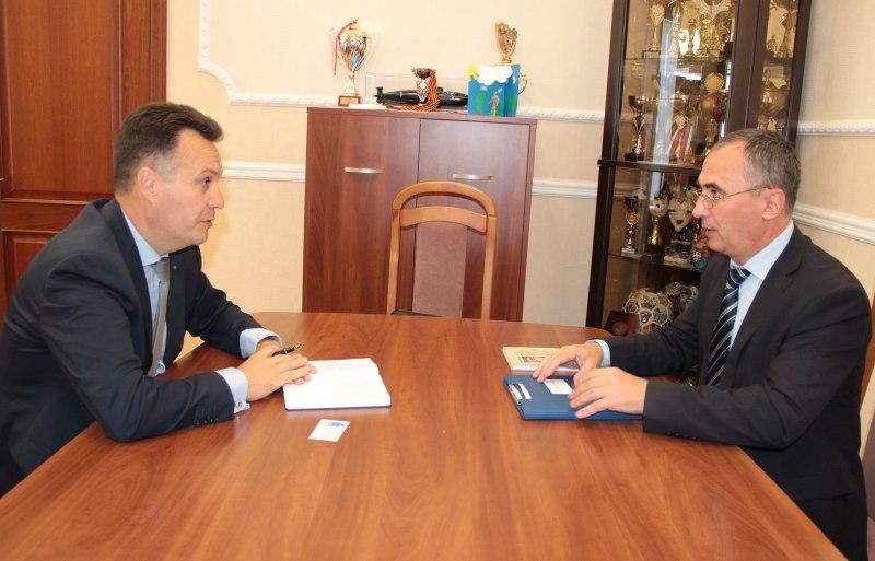 Администрация Псковской области и ФАДН обсудили перспективы сотрудничества в сфере национальной политики