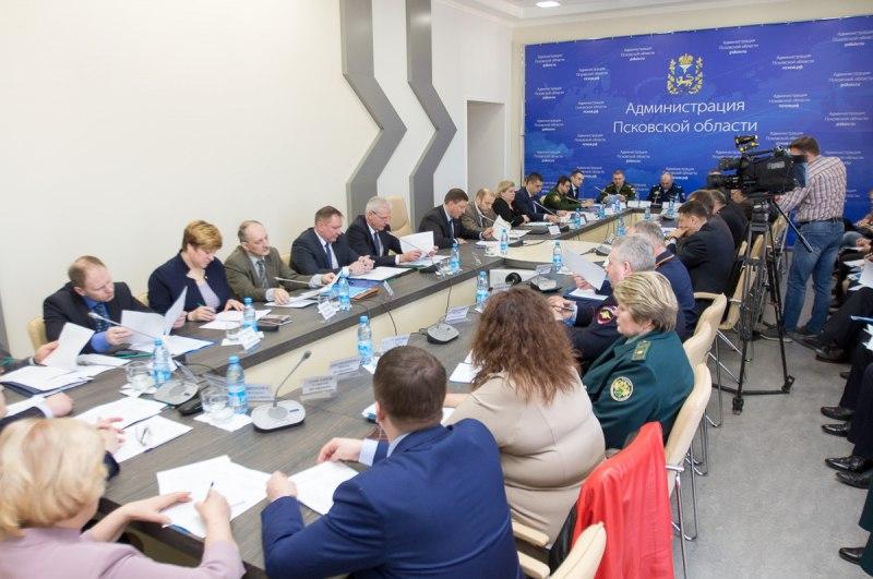 Обеспечение правопорядка в Псковской области обсудили на координационном совещании под руководством Андрея Турчака, фото-1