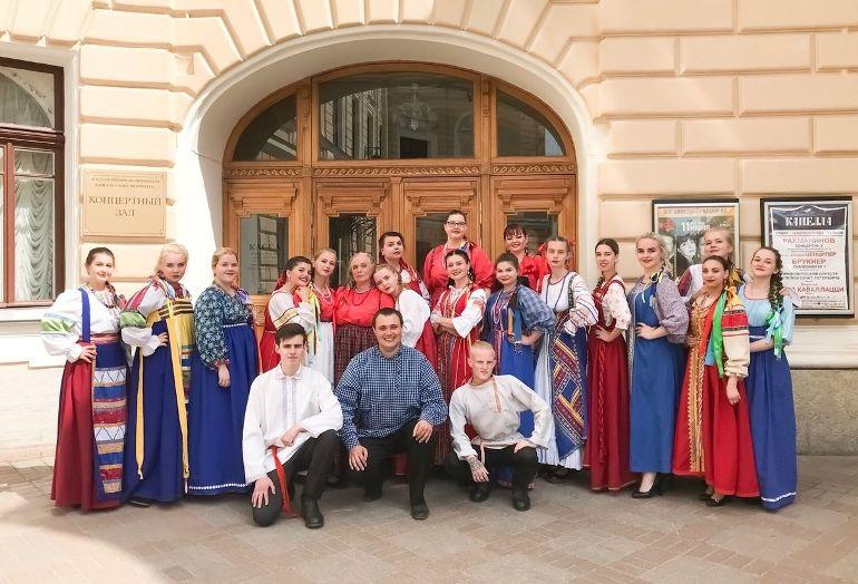 Учебный хор Псквского колледжа успешно вступил на окружном этапе Всероссийского хорового фестиваля, фото-1